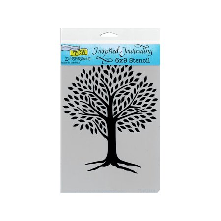 - The Crafters Workshop Stencil 6x9 Tree Of Life