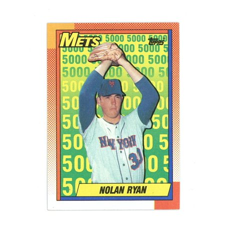 1990 Topps #2 Nolan Ryan The Mets Early Years