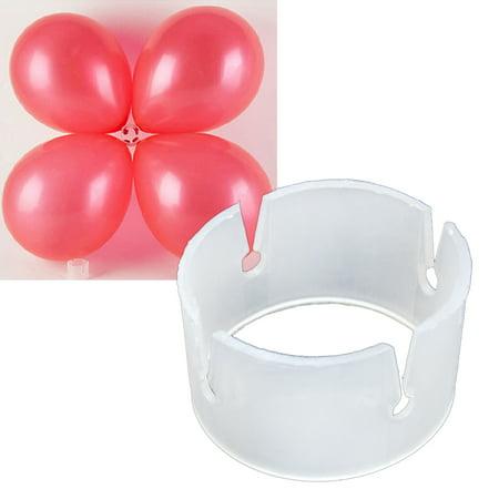 100 Pcs, The Elixir Party Decorative Decor Balloon Rings Buckle Balloon Arch Folder Convenient Clip Connector Balloon Accessories (Balloon Clip)