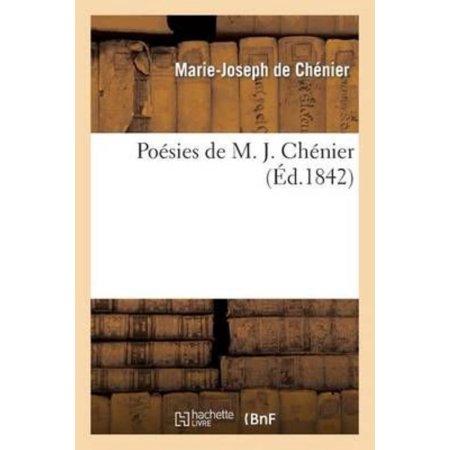 Poesies De M  J  Chenier