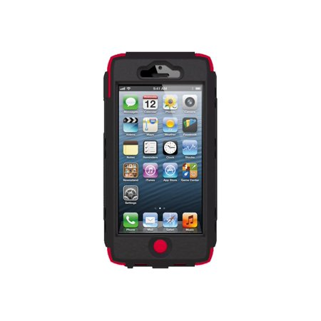 Polycarbonate Silicone (Trident Kraken A.M.S. Series - Case for cell phone - silicone, polycarbonate - red - for Apple iPhone)
