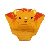 Replacement Pad for Fisher-Price Roarin' Rainforest Jumperoo Rotating Seat CBV63 - Orange Tiger Print