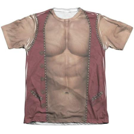 Warriors - Movie Men's  Vest Sublimation T-shirt White - Male Warrior