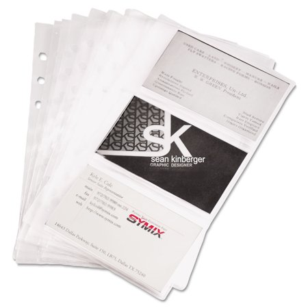 Refill sheets for 4 14 x 7 14 business card binders 60 card refill sheets for 4 14 x 7 14 business card binders colourmoves