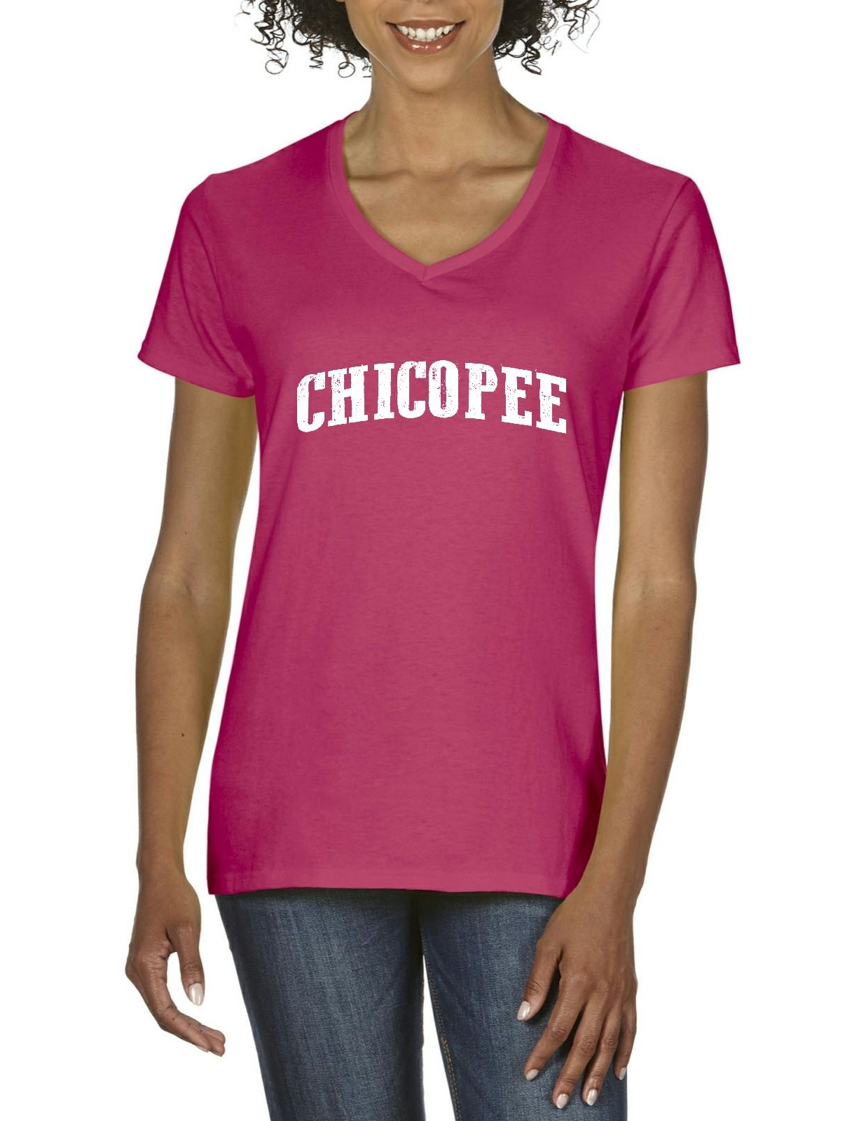 chicopee massachusetts t shirt home of mit cambridge and harvard crimson artix womens shirts v neck walmartcom