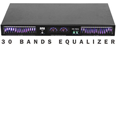 Audio Equalizer Circuit (EMB Professional EB-76EQ Dual 15 Band (30 Bands Total) Graphic Stereo Equalizer )