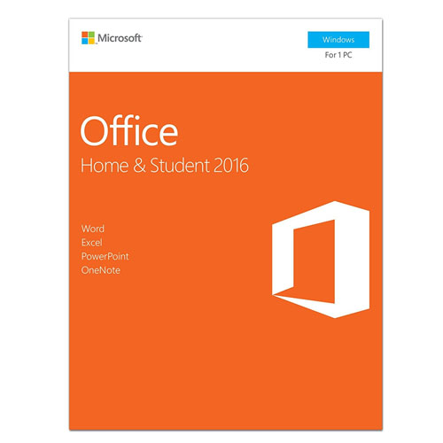 Microsoft Office Home & Student 2016 -  1 PC (Product Key Card)