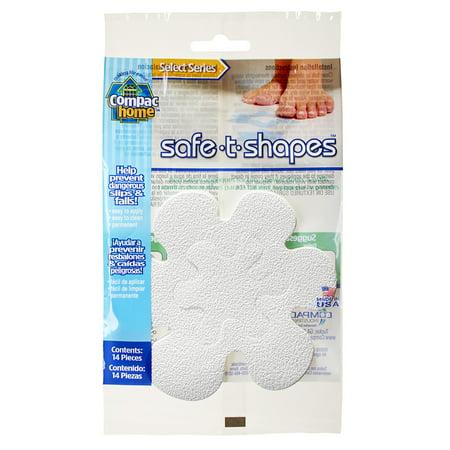 Compac Home Select Safe-T-Shapes White Daisy Bathtub Appliqu ©s