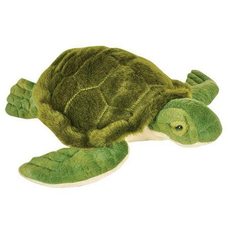 Adventure Planet Plush Animal Den - SEA TURTLE (8 - Sea Turtle Stuffed Animal