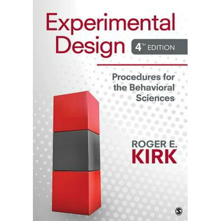 Experimental Design : Procedures for the Behavioral Sciences