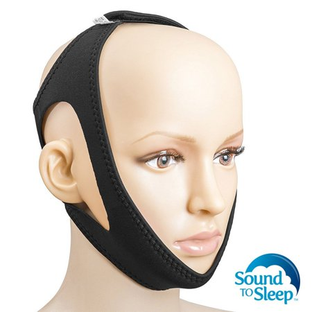SoundtoSleep Anti Snoring Chin Strap - Rated #1 Snore Stopper - Simple Yet Effective Anti-Snore Device & Sleep Aid - Ultimate Solution to Relieve Snoring, Best Jaw Strap for Instant Snore