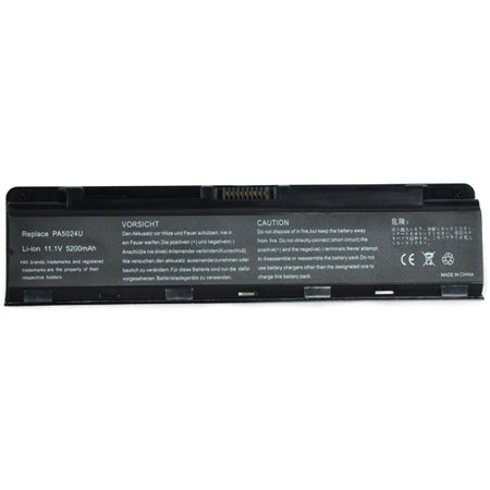 Battery For Toshiba PA5024U-1BRS - Fits Satellite Pro C800 L800 M800 P800