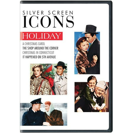 Christmas In Connecticut Dvd.Silver Screen Icons Holiday Dvd Walmart Canada