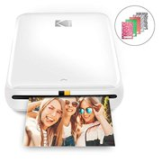 "Zink Kodak Step Printer | Wireless Mobile Photo Printer with ZINK Zero Ink Technology & Kodak App for iOS & Android | Prints 2""x3"" Sticky-Back Photos from Any Bluetooth or NFC Smart Device 