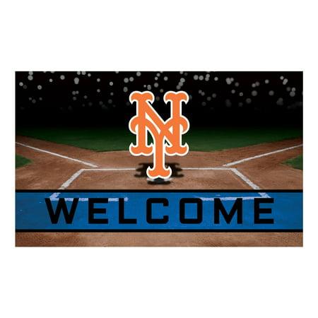 New York Mets Crumb Rubber Door Mat New York Mets Door Mat