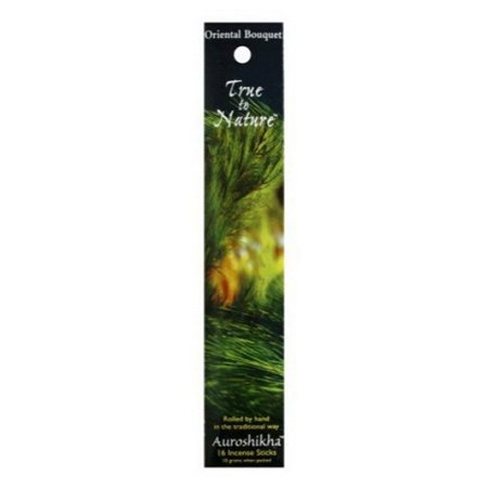 Auroshikha True To Nature Oriental Bouquet Incense Sticks - 10 Gm