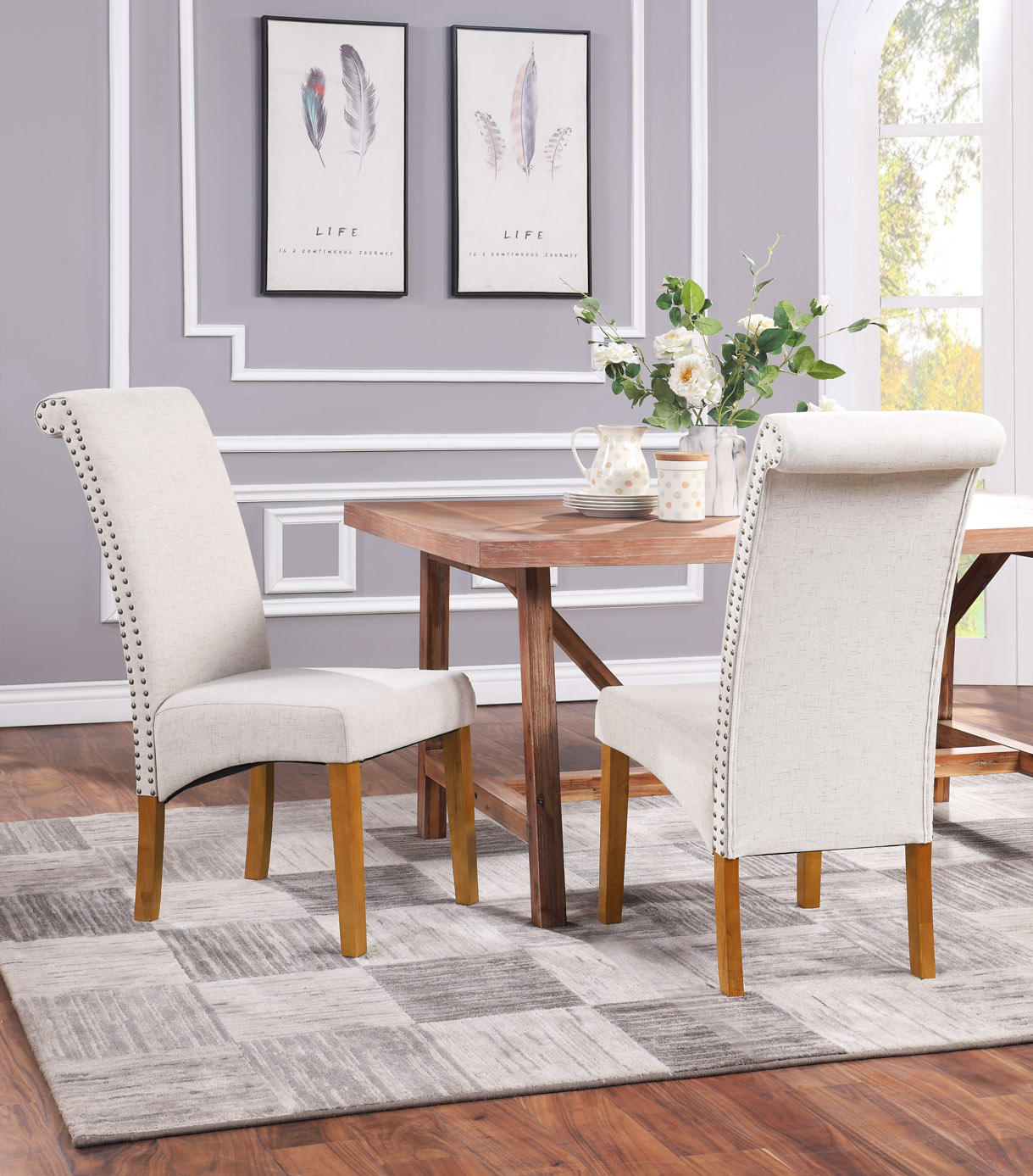 Clearance! Accent Dining Chairs Set of 2 for Kitchen ...
