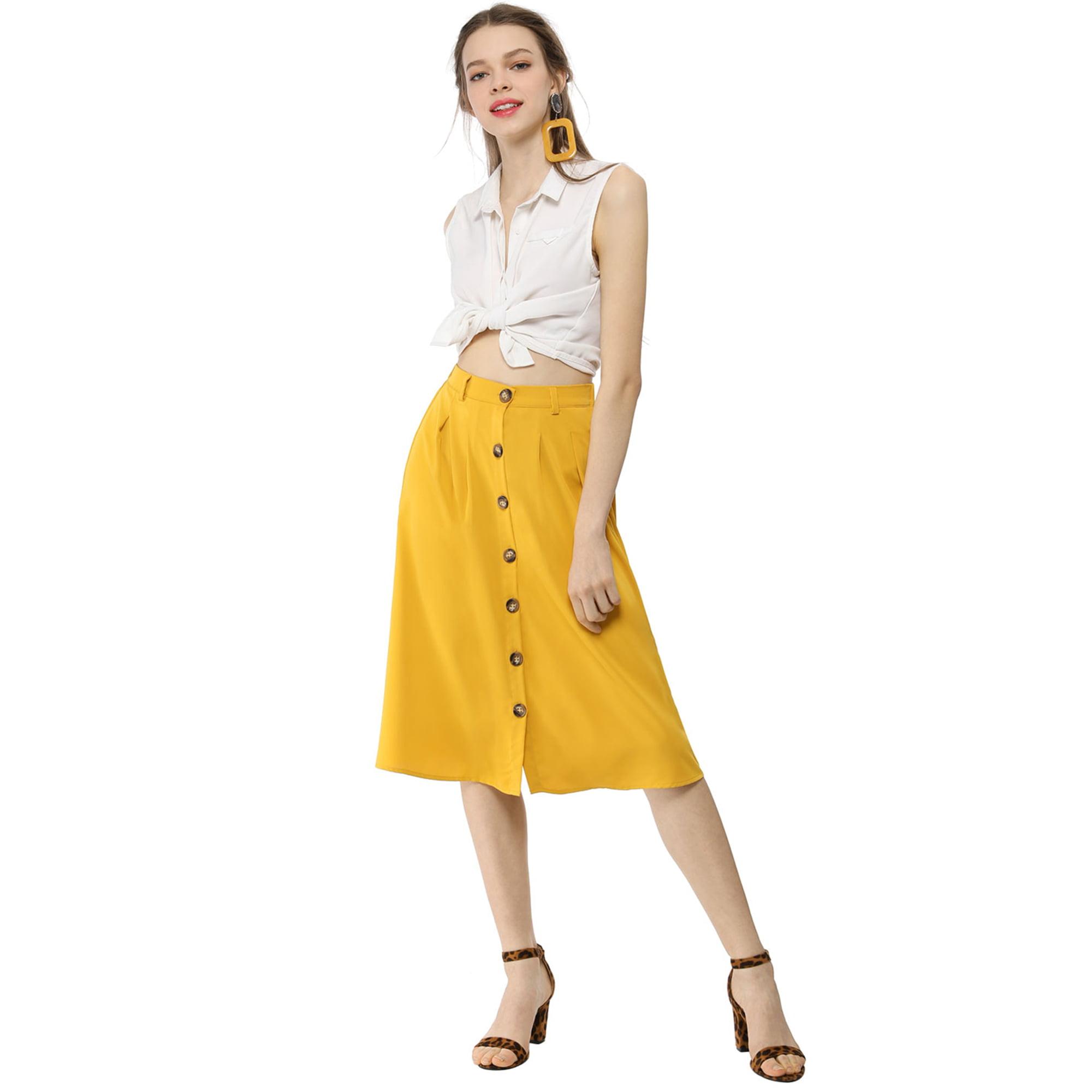 c39293bac High Waist Midi Skirt Flare | Saddha
