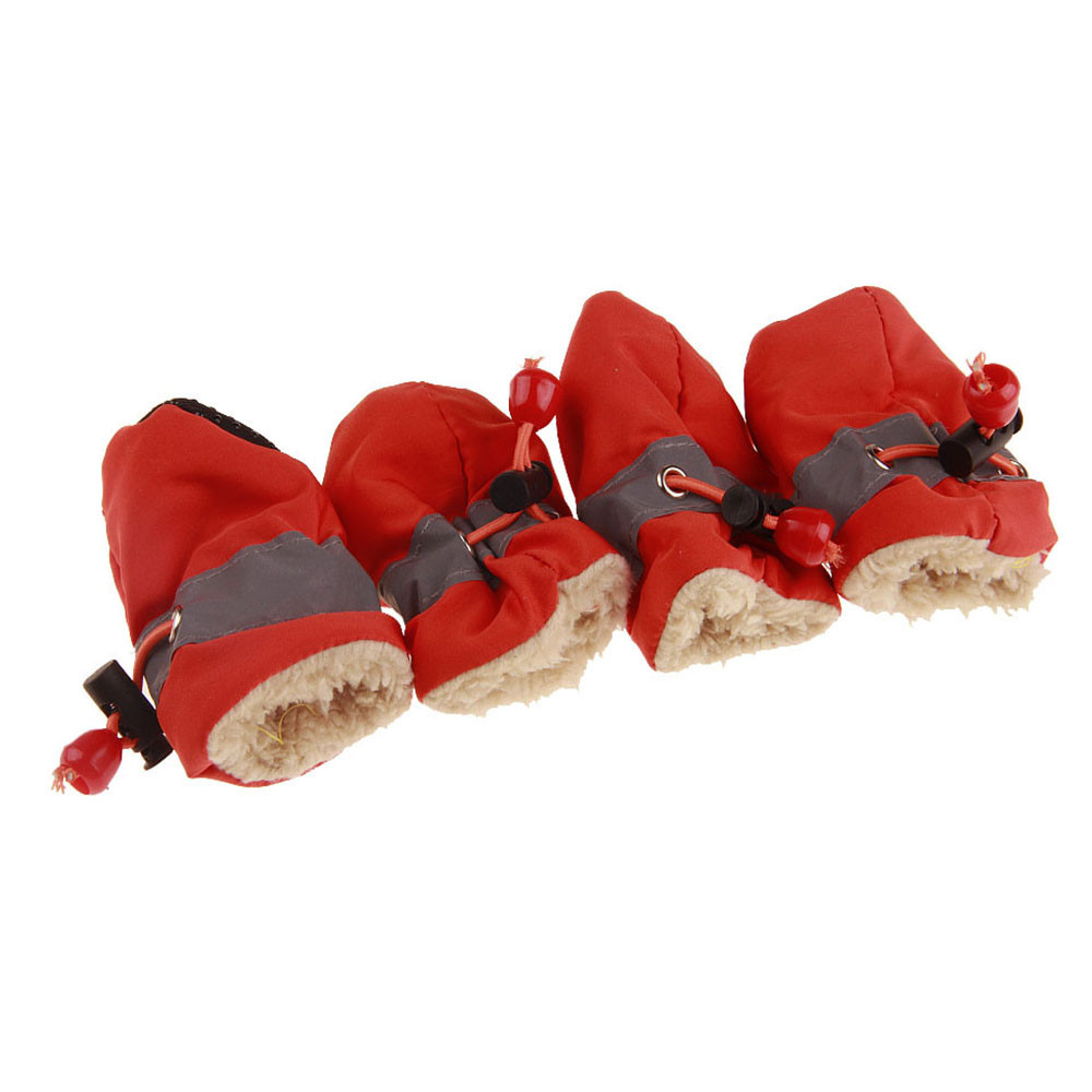 New Comfortable Anti-slip Shoes Plus Cashmere Puppy Dog Cat Boots Sneaker Boots