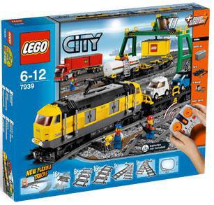 Lego City Cargo Train Play Set by LEGO Systems, Inc.