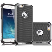 iPhone 6S Case, Tekcoo(TM) [Tmajor Series] iPhone 6 / 6S (4.7 INCH) Case Shock Absorbing Hybrid Best Impact Defender Rugged Slim Cover Shell w/ Plastic Outer & Rubber Silicone Inner
