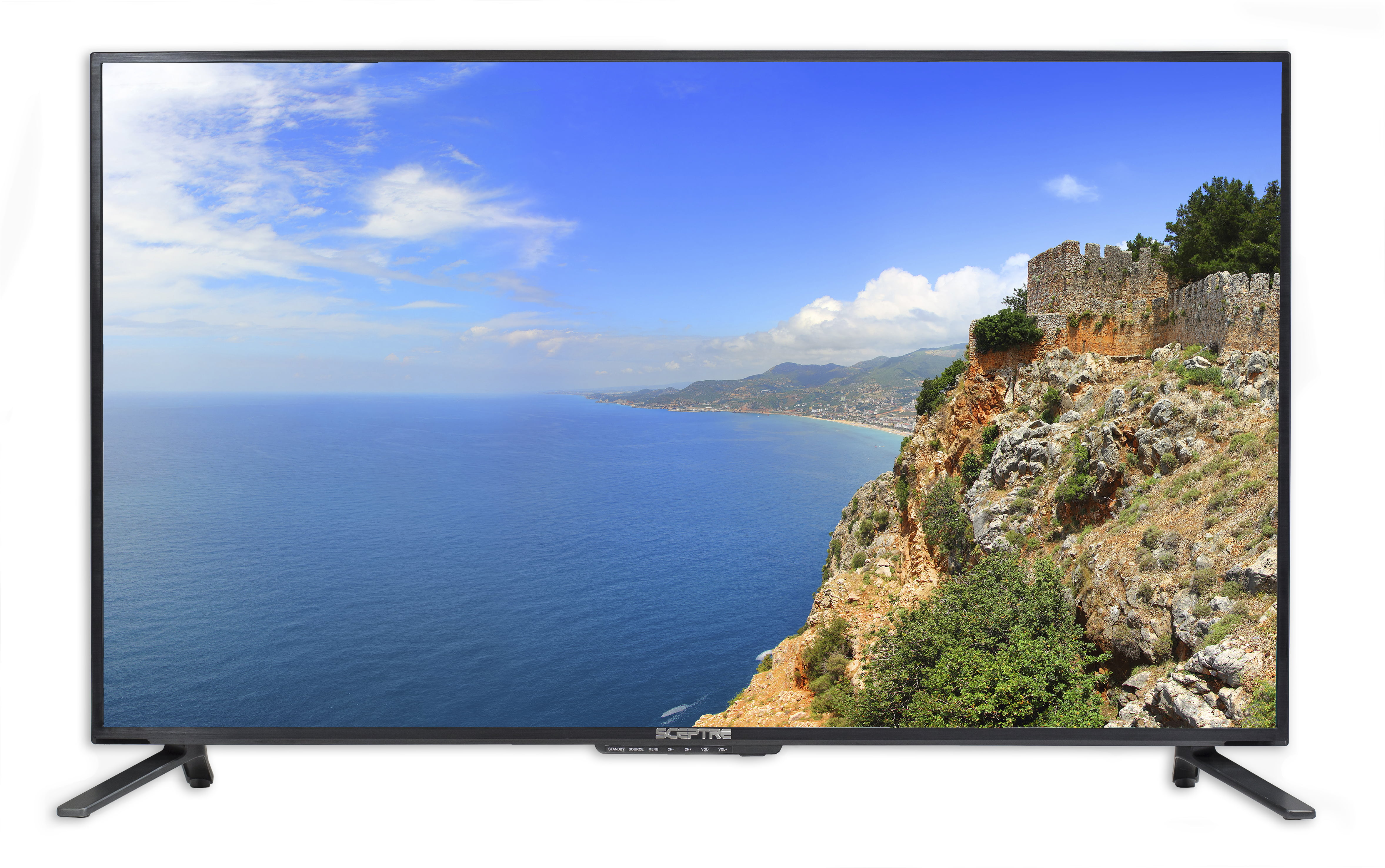 Sceptre 43 Class 4k Ultra Hd 2160p Led Tv U435cv U Walmartcom