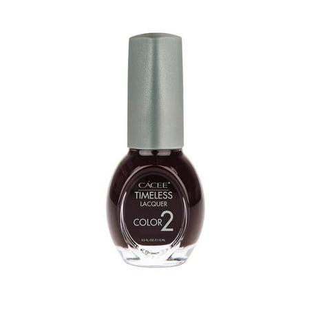 Timeless Nail Lacquer,  Premium Nail Polish Color, Long Lasting Formula For Manicure, Pedicure, Salon, and Spa, 0.5oz (Riot Rebel, 521)