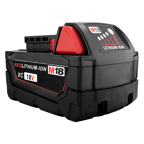 Milwaukee 48-11-1828 M18 XC RED Fuel Battery Pack 3.0Ah Replacement by Banshee