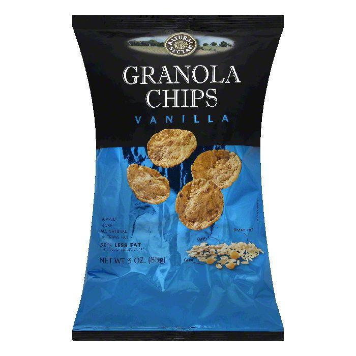 Natural Nectar Vanilla Granola Chips, 3 OZ (Pack of 9)