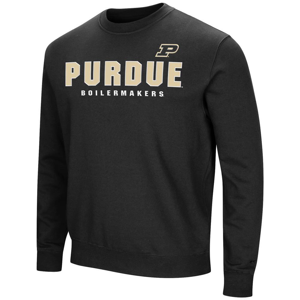 Purdue University Sweatshirt Playbook Crew Neck Fleece