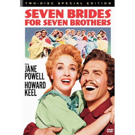 Seven Brides For Seven Brothers (DVD)](Warner Brothers Movie World Halloween)