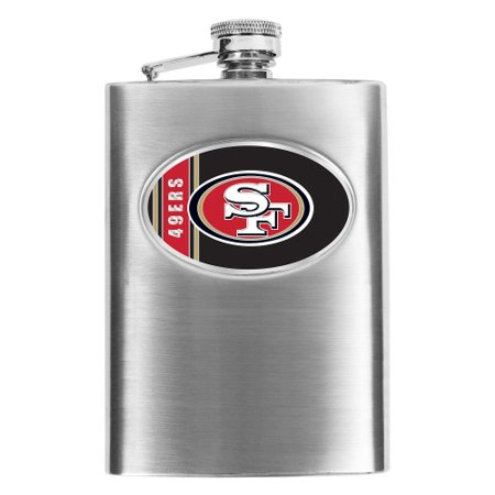 6e72d329 San Francisco 49ers Stainless Steel Flask - No Size