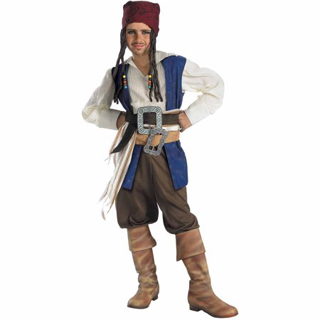 Jack Sparrow Child Halloween Costume, L (10-12) - Jack Happy Halloween