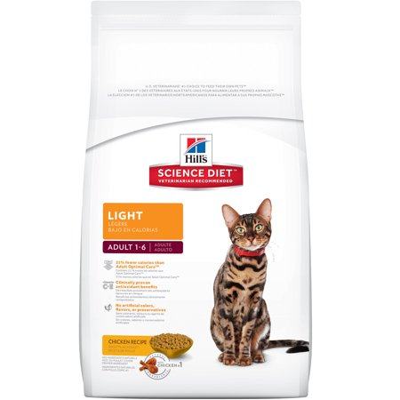 Hills science diet adult light chicken recipe dry cat food 16 lb hills science diet adult light chicken recipe dry cat food 16 lb bag forumfinder Images