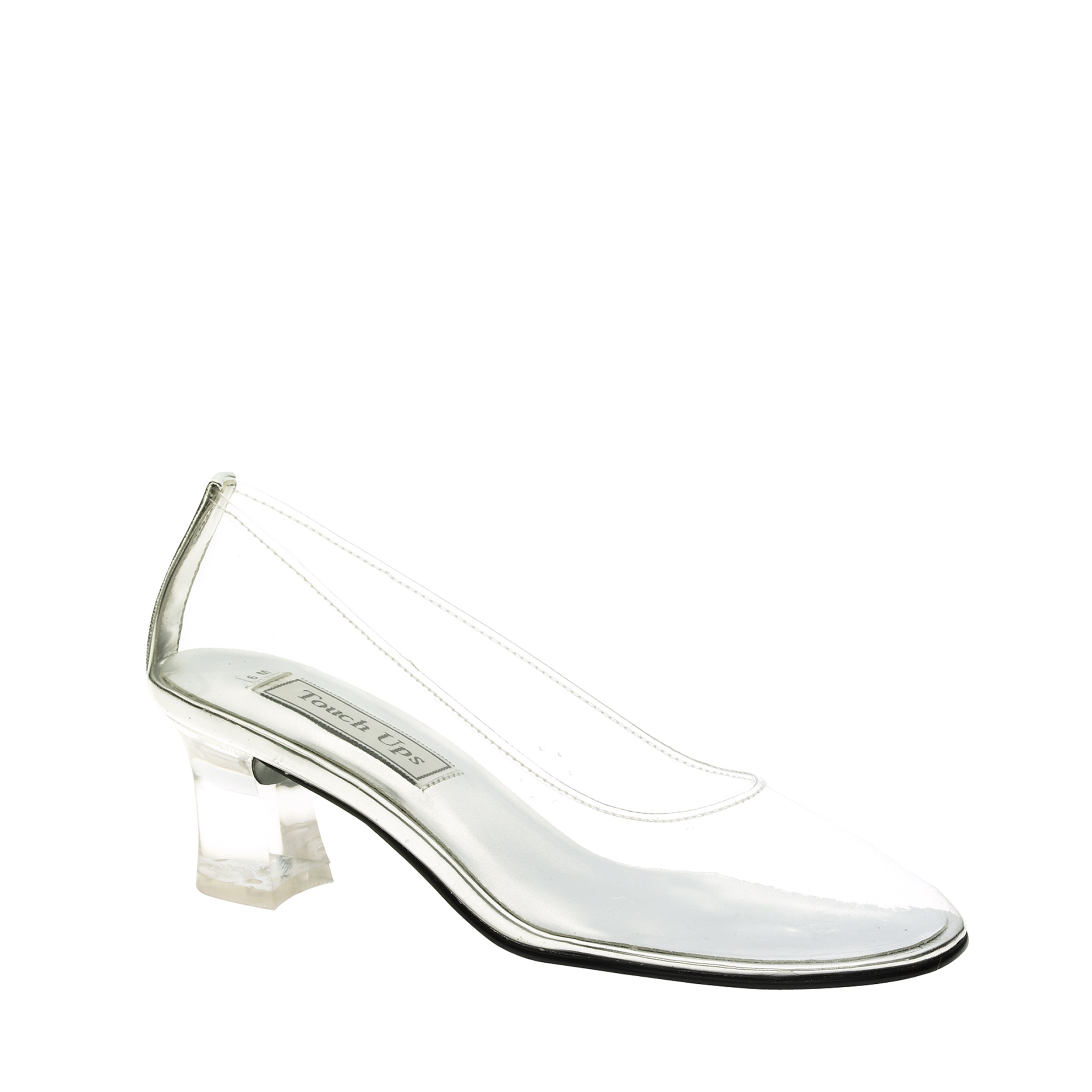 Touch Ups Cinderella Womens Clear Pumps 10 M by Benjamin Walk