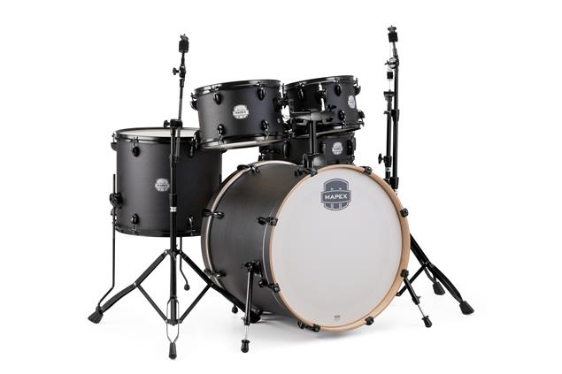 "Click here to buy Mapex ST5295FBIZ Storm Rock 22"" Bass Drum 5-Piece Drum Set w  Black Hardware Deep... by Mapex."