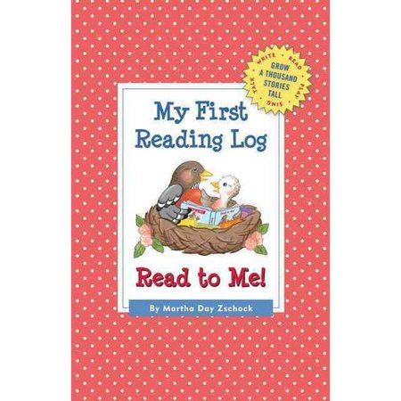 My First Reading Log  Read To Me  Grow A Thousand Stories Tall