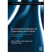 Environmental Certification for Organisations and Products - eBook