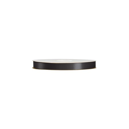 "- Black Polypropylene Ribbon - 3/4"" W x 250 Yds. Per Roll - Pack of 2"