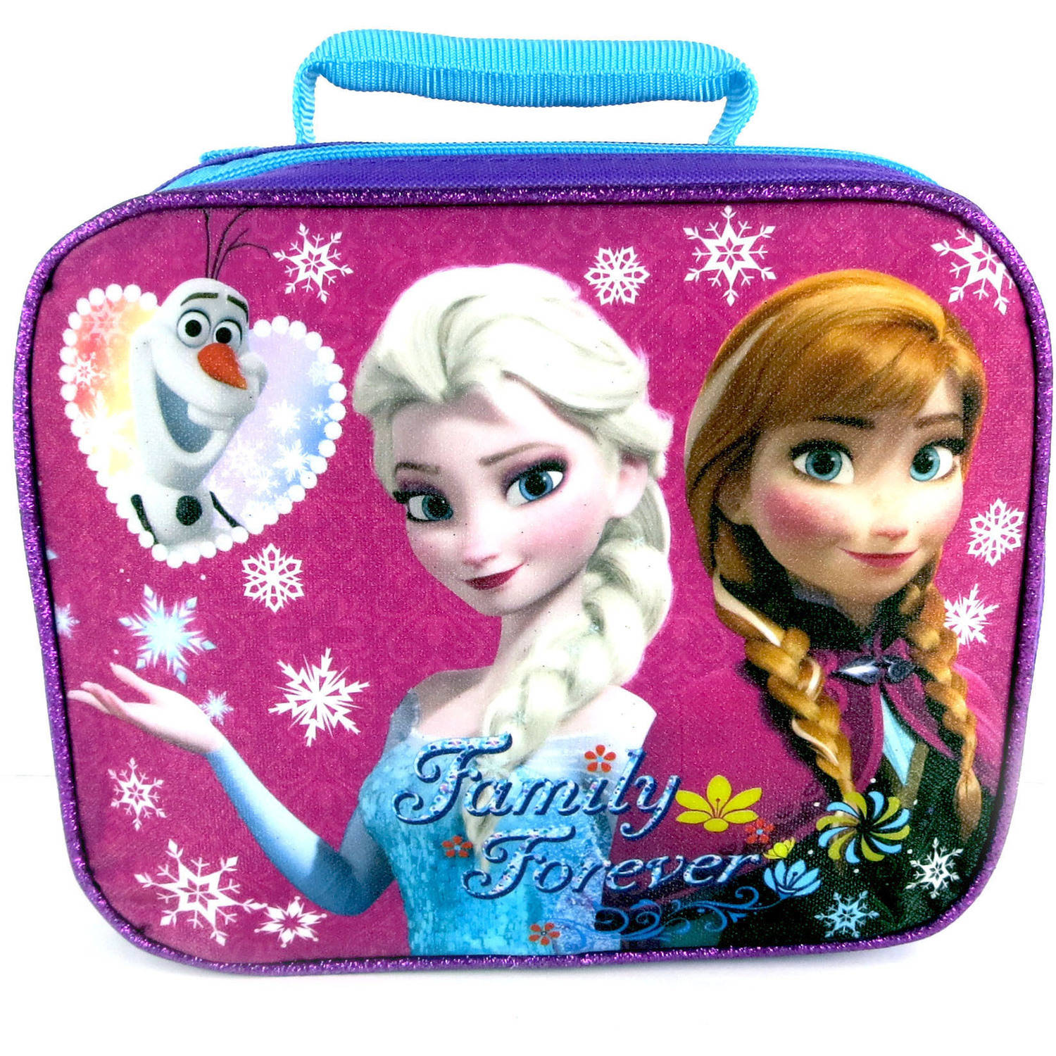 Disney Frozen Lunch Bag, Purple
