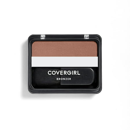 COVERGIRL Cheekers Blendable Powder Bronzer, 102 Copper - Triple Action Bronzer