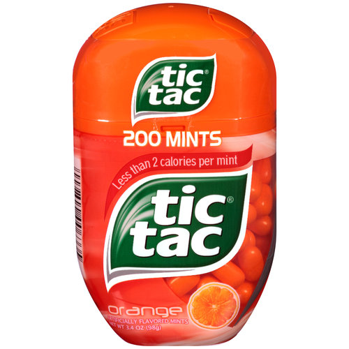Tic Tac Orange Mints, 200 count, 3.4 oz