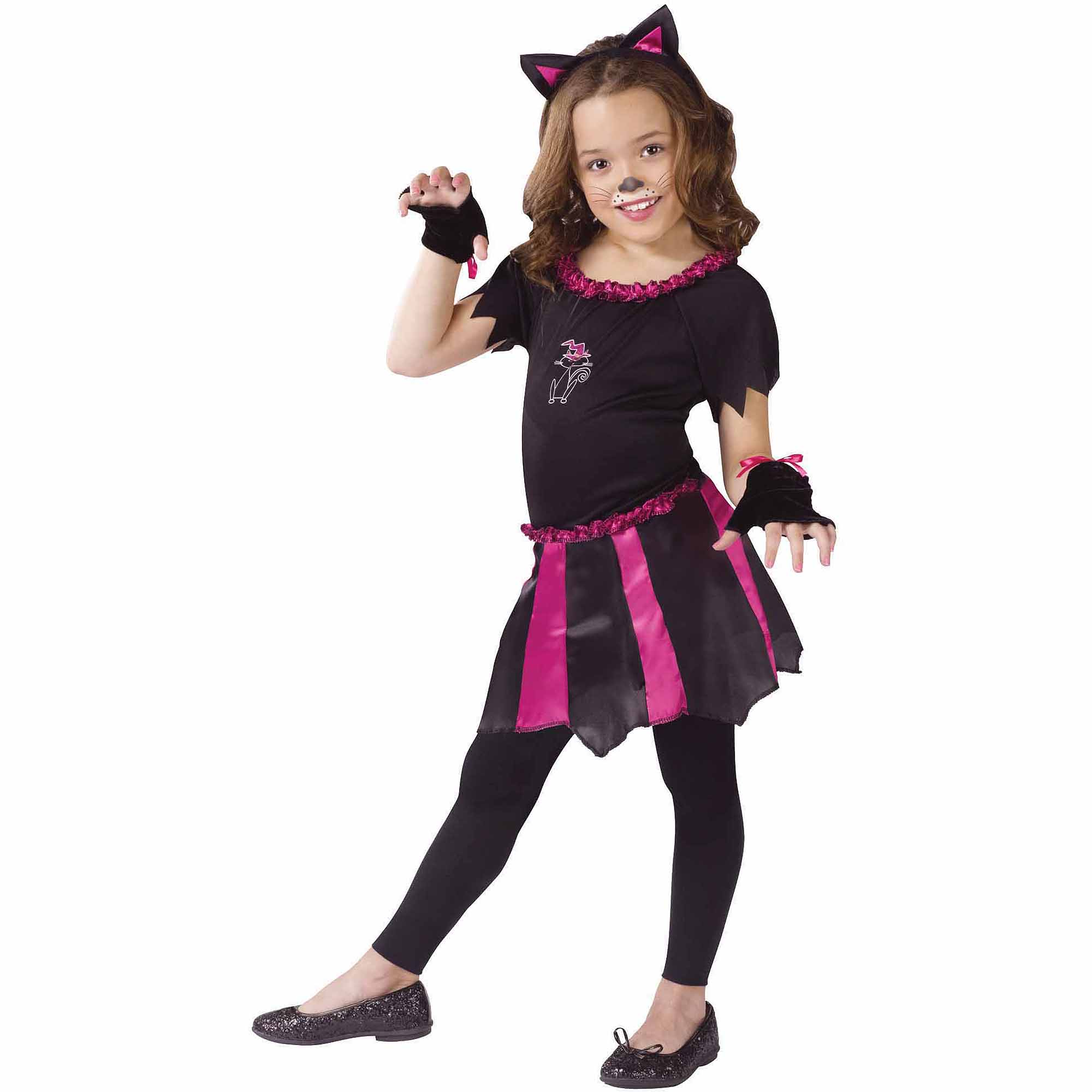Cat Sweetheart Child Halloween Costume, One Size, L(12-14)