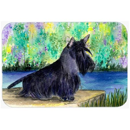 Carolines Treasures SS8330LCB 15 x 12 in. Scottish Terrier Glass Cutting Board - Large - image 1 de 1