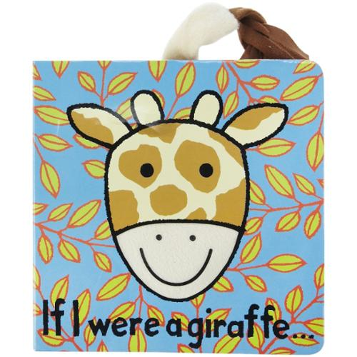 Jellycat 'If I Were a Giraffe' Board Book
