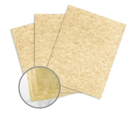 Astroparche 8.5 x 11 Sand Card Stock 65lb Cover Vellum 250/Pack