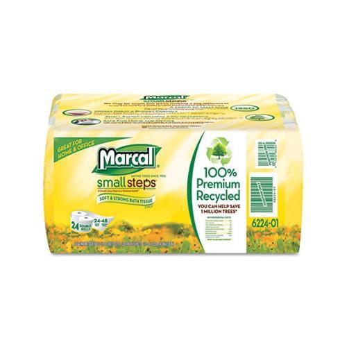 Marcal Manufacturing, Llc 100% Recycled Convenience Bundle Bathroom Tissue MR...