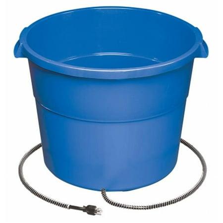 16 Gallon 260 Watt Heated Bucket (16 Gallon Heated Water Buckets For Horses)