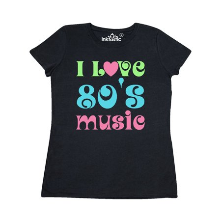 I Love 80's Music Women's - 80's Style Clothing