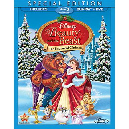 Beauty And The Beast Christmas.Beauty And The Beast An Enchanted Christmas Blu Ray Dvd 2 Disc Set
